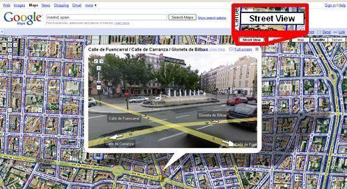 Google a lansat aplicatia Street View pentru Romania