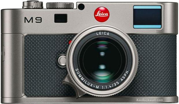 Leica M9 Titanium - mai mult dec acirc;t un aparat foto.