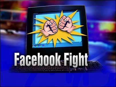 Bataie in cuplu pe seama Facebook