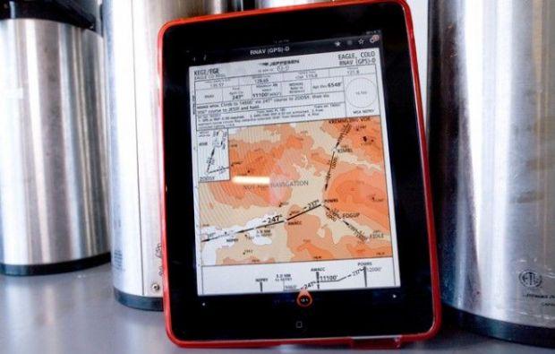 Aplicatii iPad in loc de harti clasice pentru piloti