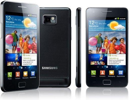 Galaxy S II, un telefon pe care il apropii de tine pentru a face zoom