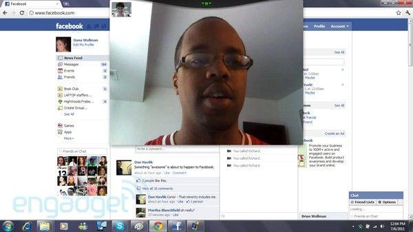 VIDEO Facebook si-a pus video chat, in parteneriat cu Skype