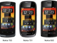 Nokia 700, Nokia 701 si Nokia 600, trei telefoane noi cu sistemul de operare Symbian Belle