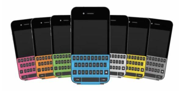 VIDEO iPhone cu tastatura QWERTY?
