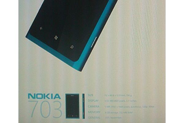 Nokia 703, primul terminal Nokia cu Windows Phone 7 Mango