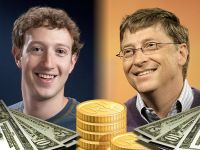 TOP Cine are mai multi bani, Mark Zuckerberg sau Bill Gates? Intra sa vezi cum se fac bani din IT