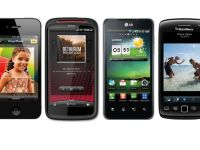 Duelul greilor: iPhone 4S vs. HTC Sensation XE vs. LG Optimus 2X vs. BlackBerry Torch 9860