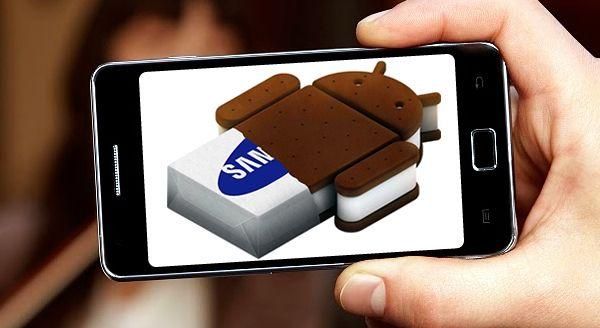 Samsung Galaxy S II primeste sandvisul cu inghetata Android 4.0