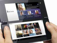 Prima tableta pliabila din lume, Sony Tablet P, a ajuns in Europa. Vezi pretul