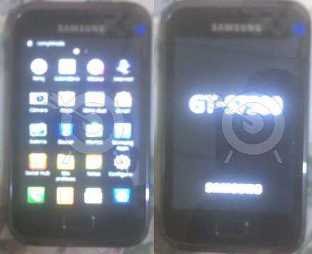 Primele imagini cu un Samsung Galaxy S II mini