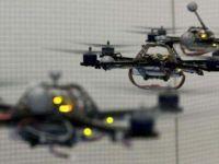 VIDEO Robotii zburatori au construit un turn inalt de 6 metri