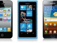 Galaxy S II si iPhone 4S in topul vanzarilor de smartphone-uri. Vezi ce producator s-a situat pe prima pozitie in ultimele trei luni