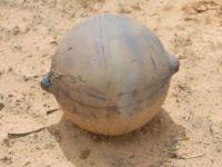 O sfera metalica neidentificata a cazut din ceruri
