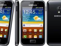 Samsung a lansat Galaxy Ace Plus. Vezi specificatiile tehnice