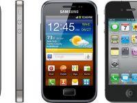 iPhone 4S vs. Galaxy ACE PLUS. Samsung ataca Apple inca din primele zile ale anului