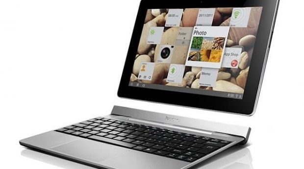 IdeaTab S2, tableta Lenovo Android 4 de 10 inch care se transforma in laptop