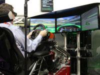 VIDEO. Cel mai tare simulator de curse, prezentat la Las Vegas.  Am plans de emotie . Afla-i pretul