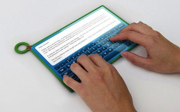 CES 2012: Tableta de 330 de lei, cu manivela. VIDEO
