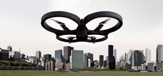 CES 2012: Elicopterul cu patru elice care iti poate inregistra cele mai frumoase momente din viata