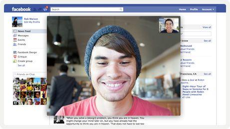 Facebook & Microsoft Skype 5.8 Windows