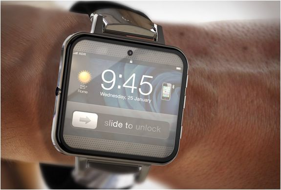 FOTO: Cea mai tare inventie Apple din 2012: iWatch2, ceasul pe care poti sa vezi FILME si sa stai pe Facebook!