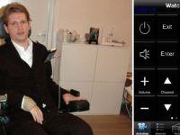 FOTO: Aplicatia incredibila de iPhone care i-a schimbat viata lui Nesu dupa ce a ramas paralizat: controleaza totul cu OCHII