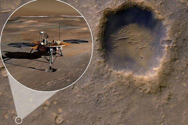 IMAGINEA ANULUI: Vezi ce obiect a descoperit NASA pe Marte! Azi a facut fotografia publica