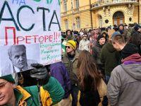 FOTO  ACTA la Vista Baby!  Mii de bulgari au manifestat la Sofia