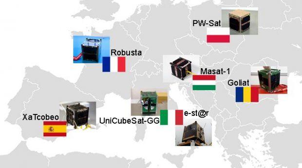 Satelitul Goliat pune Romania pe harta proiectelor spatiale europene. Misiunile celor sapte picosateliti lansati de racheta Vega