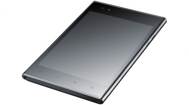 Video LG anunta Optimus VU, un hibrid telefon-tableta Android cu diplay de 5 inch
