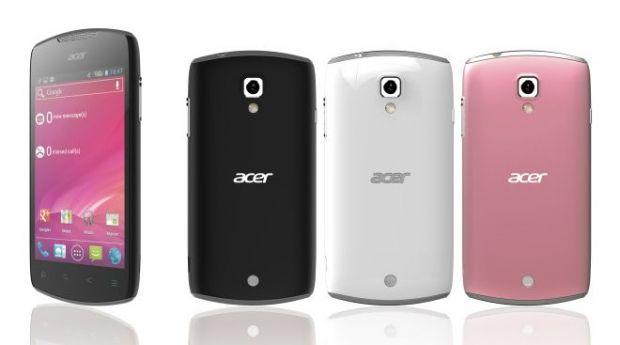Acer pregateste un smartphone Android 4 ICS, care sa imbine stilul si performanta la un pret accesibil
