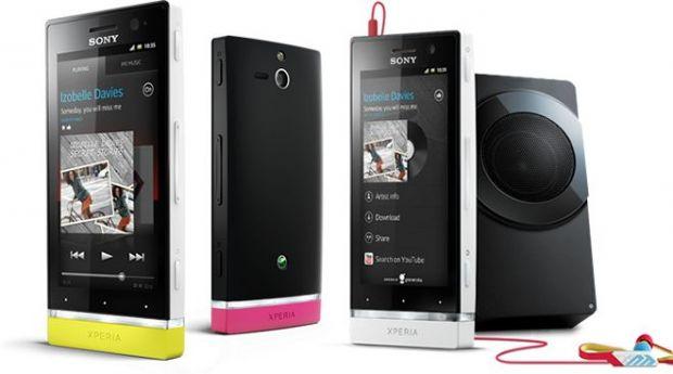VIDEO Sony lanseaza Xperia U, un smartphone cu stil si sunet clar si puternic