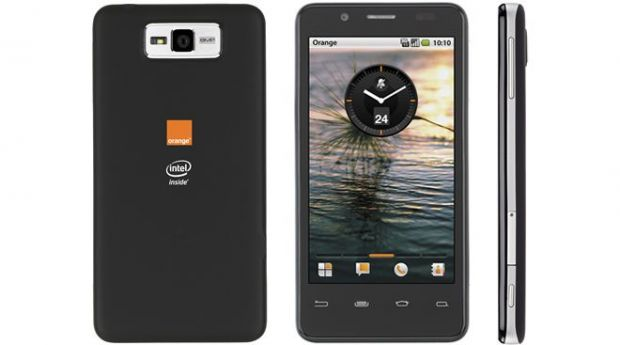 Orange anunta un smartphone Android cu display de 4 inch si procesor Intel