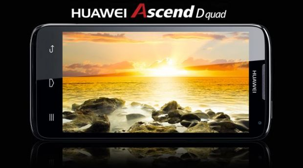 VIDEO Huawei a lansat Ascend D quad, cel mai rapid smartphone din lume