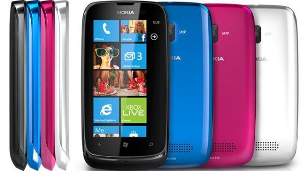 VIDEO Nokia Lumia 610, un Windows-Phone ieftin, intr-o varietate de culori de primavara
