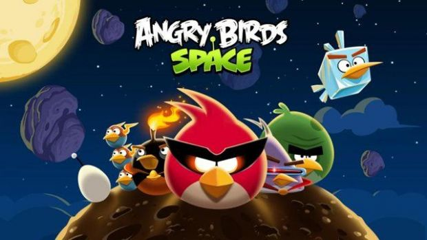 NASA a trimis Angry Birds in spatiu