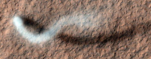 Un DRAC a fost fotografiat pe Marte! Cea mai spectaculoasa fotografie a saptamanii