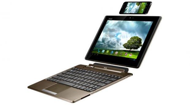 VIDEO Asus a lansat un gadget inovator. Telefon, tableta sau laptop?