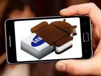 Samsung Galaxy S II trece oficial pe Android 4.0 Ice Cream Sandwich