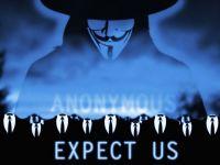 Anonymous ataca una dintre marile puteri ale lumii.  Asteptati-va la orice din partea noastra, nu iertam niciodata