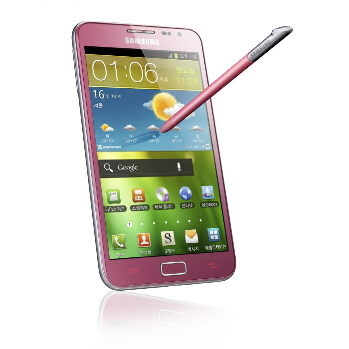 Pink Galaxy Note