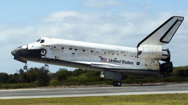 VIDEO Ultimul zbor al navetei Discovery
