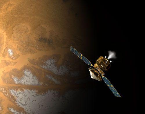 Structuri asemanatoare melcilor, descoperite intr-o regiune vulcanica a Planetei Marte