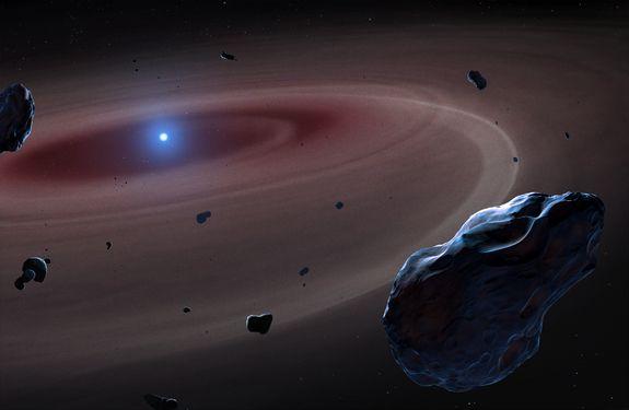 Stele pe cale sa moara, surprinse inghitind planete asemanatoare Pamantului