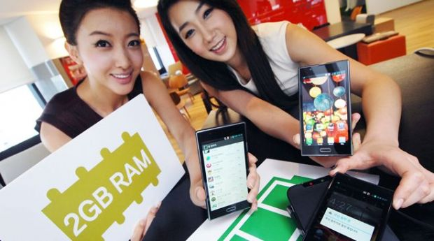 Coreenii lanseaza primul smartphone cu memorie RAM de 2 GB