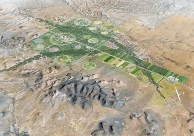 Un oras-fantoma de 1 miliard de euro se construieste in New Mexico