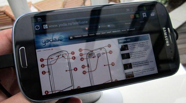 Samsung a lansat GALAXY S III in Romania. Pret si galerie foto