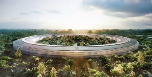 Apple construieste un OZN in California