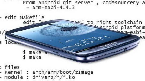 Samsung a publicat codul sursa Galaxy S III