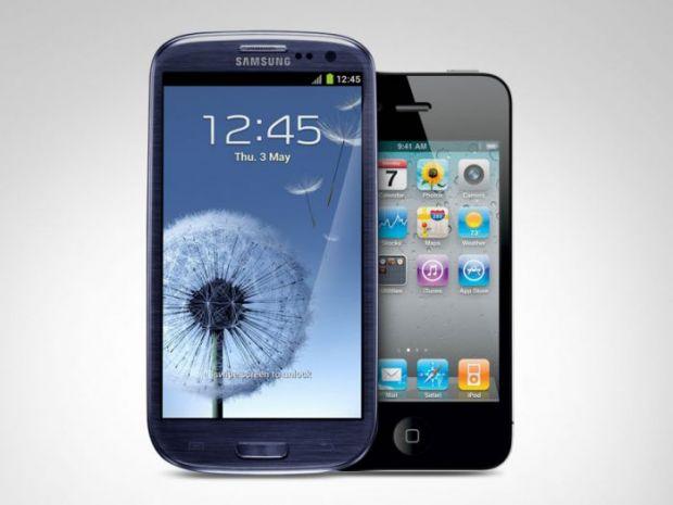 Samsung Galaxy S III, zdrobit de iPhone 4S in cel mai nebun test posibil
